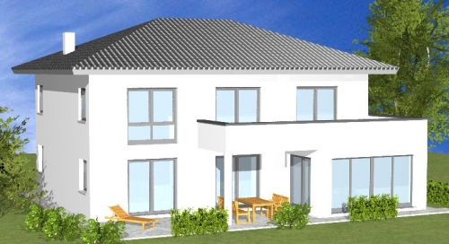 Einfamilienhaus claudia homolka hausbau gmbh for Einfamilienhaus bauplan