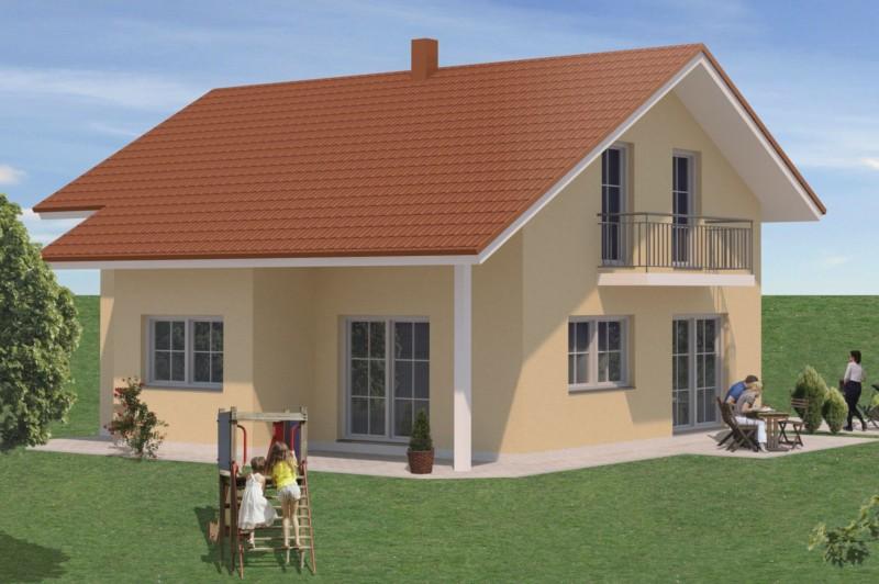 Einfamilienhaus gisela homolka hausbau gmbh for Einfamilienhaus bauplan