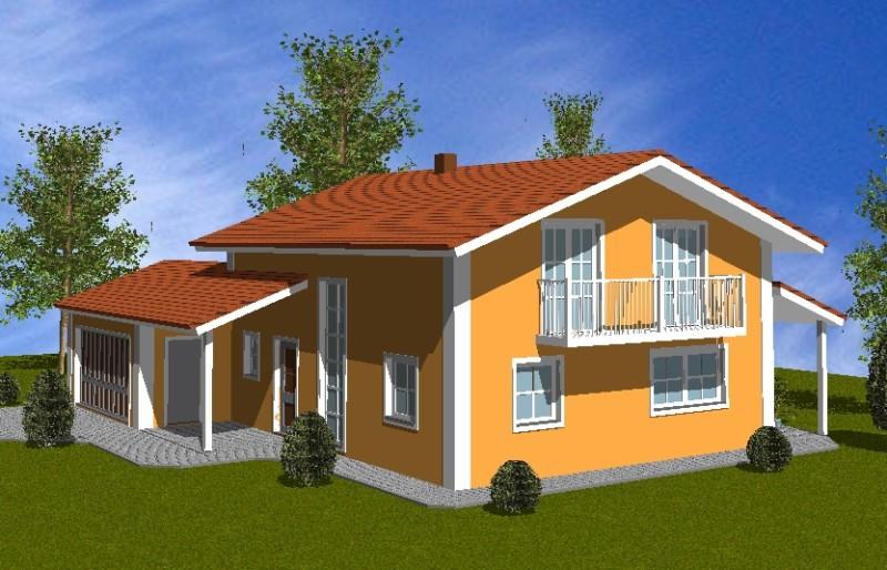 Einfamilienhaus sonja homolka hausbau gmbh for Einfamilienhaus bauplan